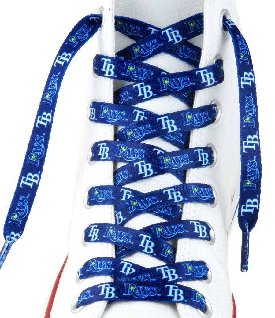 """Tampa Bay Rays Shoe Laces - 54"""""""