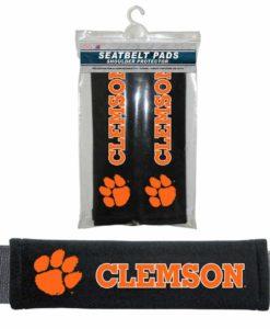 Clemson Tigers Velour Seat Belt Pads