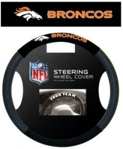 Denver Broncos Mesh Steering Wheel Cover