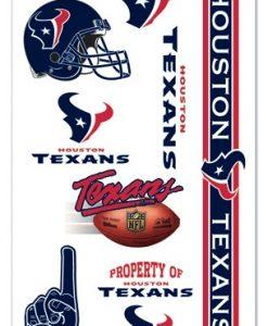 Houston Texans Temporary Tattoos