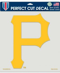 """Pittsburgh Pirates Die-Cut Decal - 8""""x8"""" Color"""