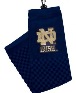 """Notre Dame Fighting Irish 16""""x22"""" Embroidered Golf Towel"""