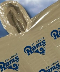 St. Louis Rams Hooded Poncho