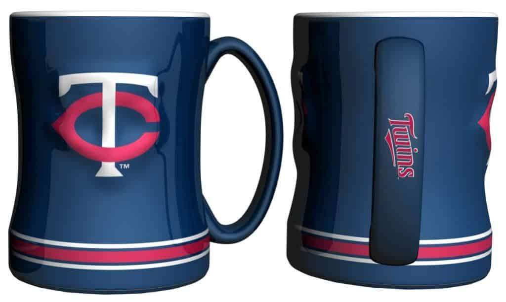 Minnesota Twins Coffee Mug - 14oz Sculpted