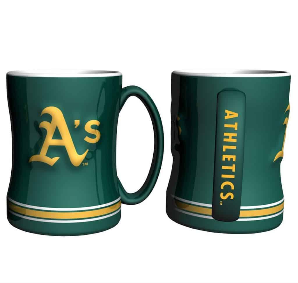 Oakland Athletics Coffee Mug - 14oz Sculpted