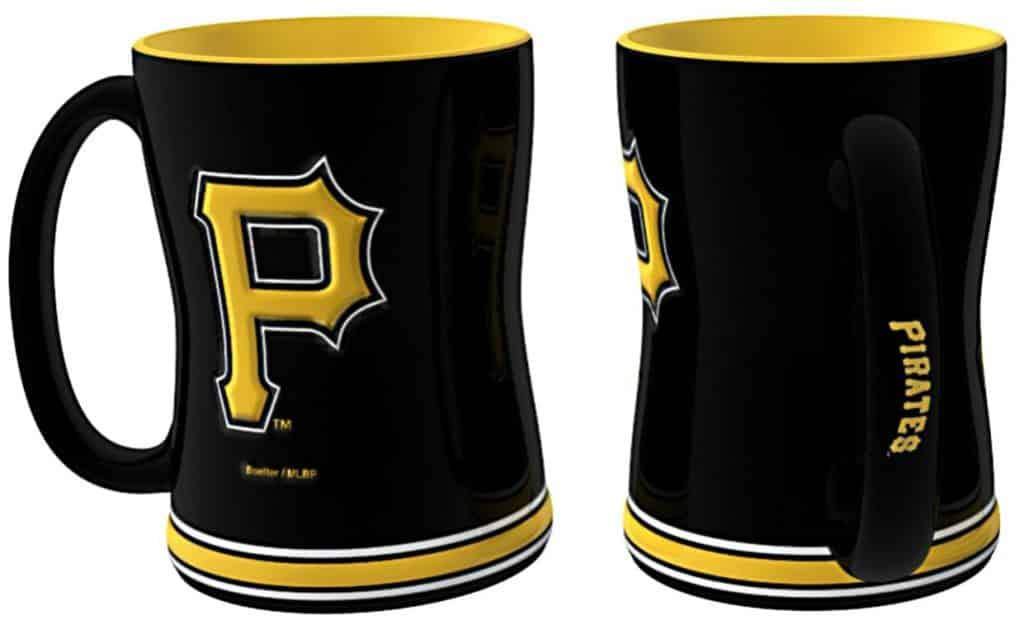 Pittsburgh Pirates Coffee Mug - 14oz Sculpted