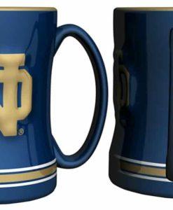 Notre Dame Fighting Irish Coffee Mug - 14oz Sculpted