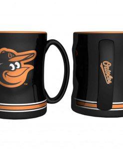 Baltimore Orioles Coffee Mug - 14oz Sculpted