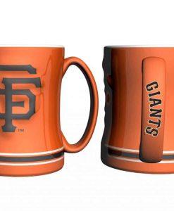 San Francisco Giants Coffee Mug - 14oz Sculpted, Orange