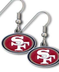 San Francisco 49ers Dangle Earrings