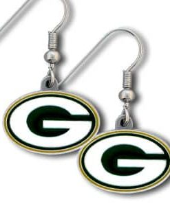Green Bay Packers Dangle Earrings
