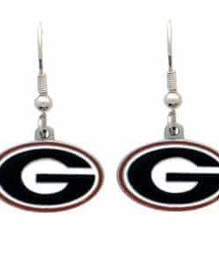 Georgia Bulldogs Dangle Earrings