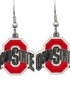 Ohio State Buckeyes Dangle Earrings