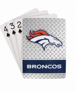 Denver Broncos Playing Cards - Diamond Plate
