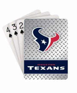 Houston Texans Playing Cards - Diamond Plate