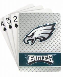Philadelphia Eagles Playing Cards - Diamond Plate