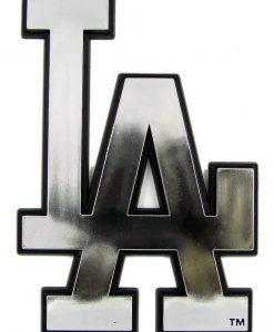 Los Angeles Dodgers Silver Auto Emblem