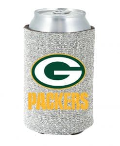 Green Bay Packers Kolder Kaddy Can Holder - Glitter