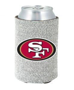 San Francisco 49ers Kolder Kaddy Can Holder - Glitter