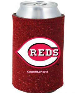 Cincinnati Reds Red Kolder Kaddy Can Holder - Glitter