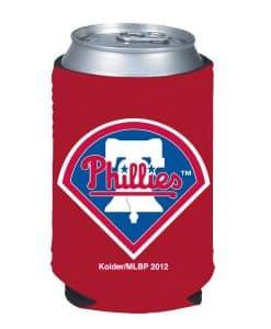 Philadelphia Phillies Red Kolder Kaddy Can Holder