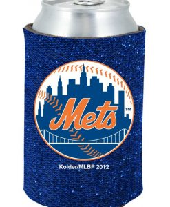 New York Mets Blue Kolder Kaddy Can Holder - Glitter