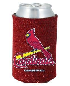 St. Louis Cardinals Red Kolder Kaddy Can Holder - Glitter