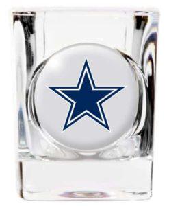Dallas Cowboys Square Shot Glass - 2 oz.