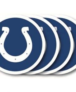 Indianapolis Colts Coaster Set - 4 Pack
