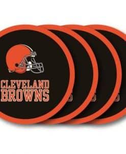 Cleveland Browns Coaster Set - 4 Pack