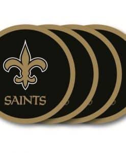 New Orleans Saints Coaster Set - 4 Pack