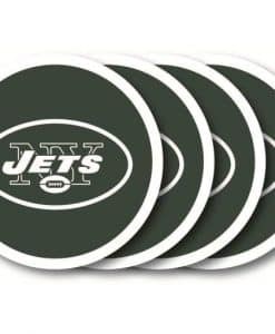 New York Jets Coaster Set - 4 Pack