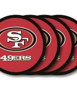 San Francisco 49ers Coaster Set - 4 Pack