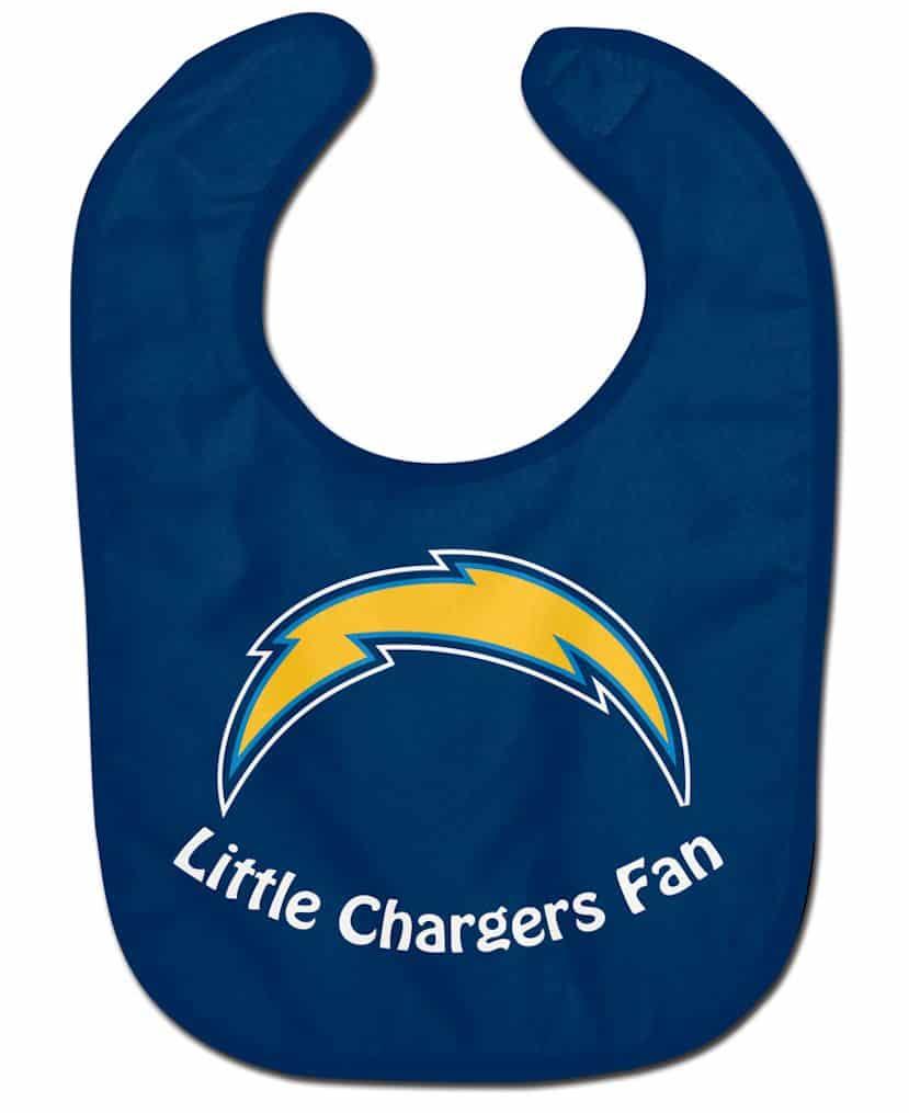San Diego Chargers Baby Bib - All Pro Little Fan