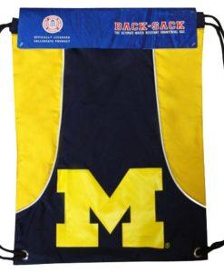 Michigan Wolverines Doubleheader Back Sack