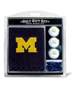 Michigan Wolverines Golf Gift Set with Towel