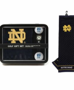 Notre Dame Fighting Irish Golf Gift Set with Towel