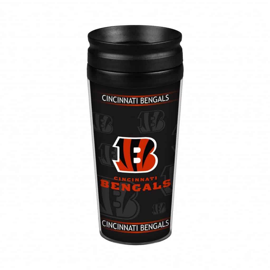 Cincinnati Bengals 14oz. Full Wrap Travel Mug