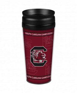 South Carolina Gamecocks 14oz. Full Wrap Travel Mug