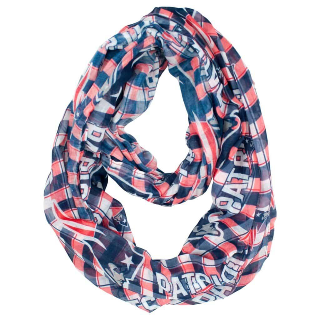 New England Patriots Infinity Scarf - Plaid
