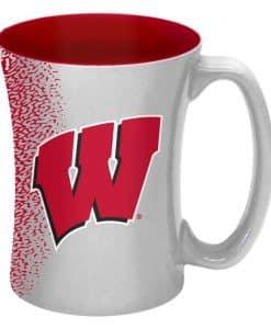 Wisconsin Badgers 14 oz Mocha Coffee Mug