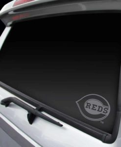 Cincinnati Reds Chrome Window Graphic Decal