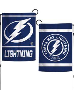 Tampa Bay Lightning 12.5x18 2-Sided Garden Flag