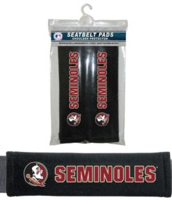Florida State Seminoles Velour Seat Belt Pads - New Logo