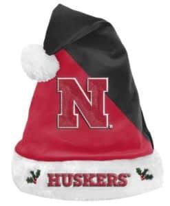 Nebraska Cornhuskers 2020 Christmas Santa Hat