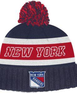 New York Rangers Adidas Dark Blue Cuff Knit Hat