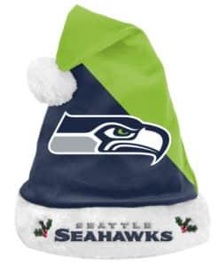 Seattle Seahawks 2020 Christmas Santa Hat