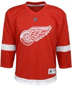 Detroit Red Wings Infant Baby Replica Home Jersey
