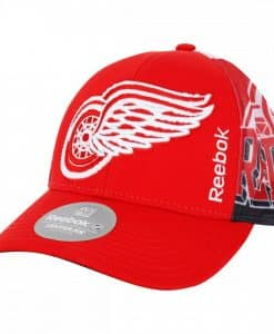 Detroit Red Wings Reebok Structured Snapback Hat