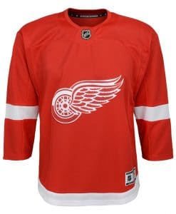 Detroit Red Wings Youth Replica Red Home Jersey